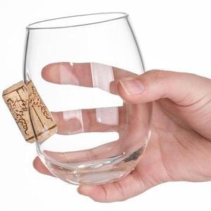 STUCK IN GLASS 玻璃紅酒杯 - 軟木塞款