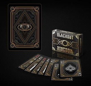 【USPCC 撲克】unbranded blackout kingdom Playing Cards