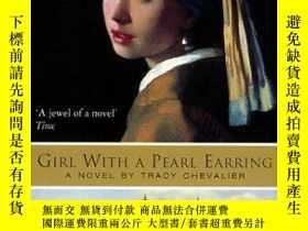 二手書博民逛書店Girl罕見With A Pearl EarringY364682 Tracy Chevalier Harpe