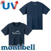 【Mont-Bell 日本 男款 Wickron WIC.T HIKER短袖排汗T恤《深藍》】1114245/春夏款/短袖/排汗衣★滿額送