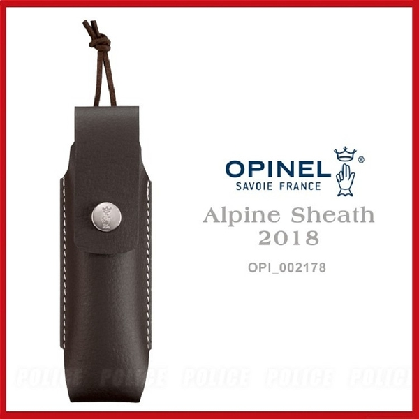 OPINEL Alpine Sheath 窄型皮套OPI 002178【AH53161】99愛買小舖