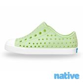 native 小童鞋 JEFFERSON 小奶油頭鞋-黃瓜綠