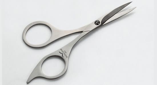 【永昌文具】日本綠鐘匠之技鍛造不鏽鋼鬢角小鬍美顏修容剪(G-2102)