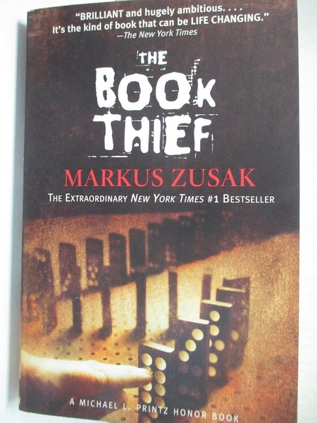 【書寶二手書T1/原文小說_IJ5】The Book Thief_Markus Zusak