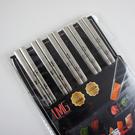 316 不鏽鋼雷射雕紋日式方角 筷子-櫻...