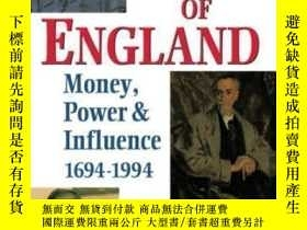 二手書博民逛書店The罕見Bank Of England: Money Power And Influence 1694-1994