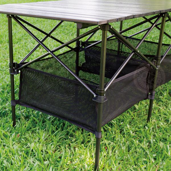 黑金鋼超大露營蛋捲桌