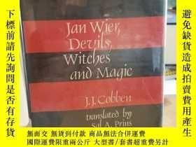 二手書博民逛書店Jan罕見Wier, devils, witches, and