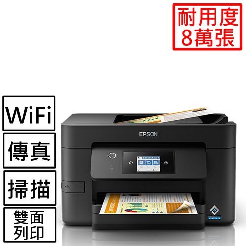 EPSON WF-3821 商用WiFi四合一傳真複合機【登錄送陶瓷悶燒罐】