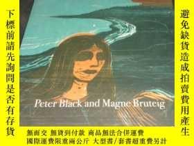 二手書博民逛書店2手英文罕見Edvard Munch Prints 蒙克版畫 s