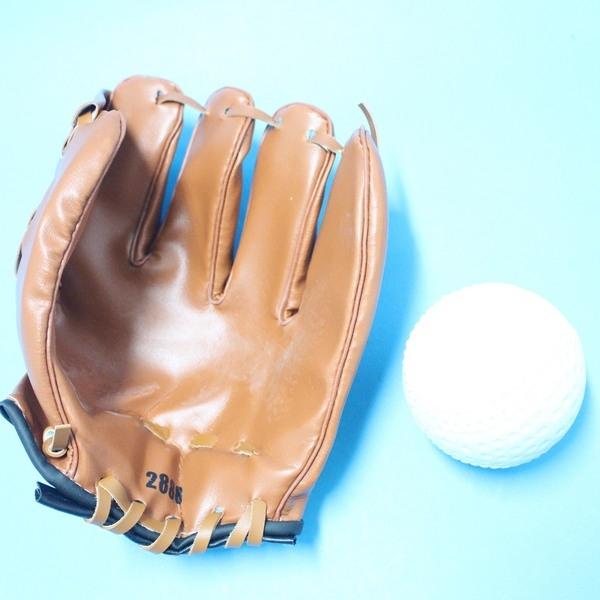 兒童棒球手套 + 軟式安全棒球/一組入{促199}~國小以下適用~群DH-001