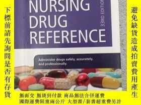 二手書博民逛書店Mosby s罕見2020 Nursing Drug Refer