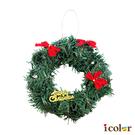 i color 聖誕裝飾花圈(20cm)
