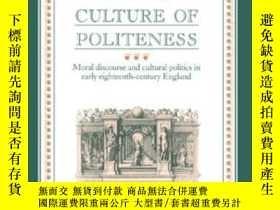 二手書博民逛書店Shaftesbury罕見And The Culture Of PolitenessY255562 Lawre