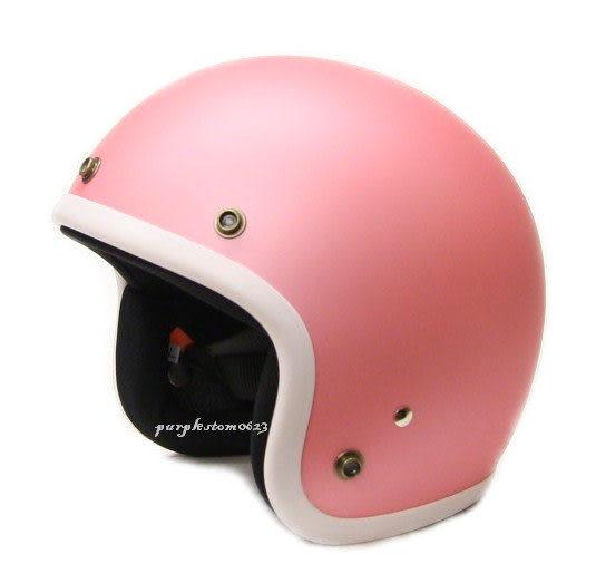 林森●GP-5安全帽,半罩安全帽,3/4帽,復古帽,小帽體,D303,消光粉/白