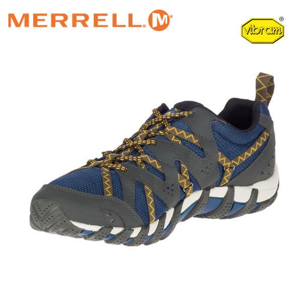 【MERRELL 美國 男 Waterpro Maipo 2 《深藍》】48615/水陸兩棲鞋/多功能鞋/輕量/慢跑/低筒鞋