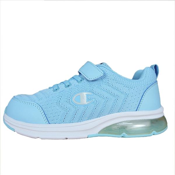 Champion ELASTIC NET 水藍色運動慢跑童鞋-NO.KSUS-0367-62