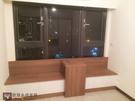 【系統家具】窗邊臥榻櫃 結合移動桌