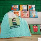 卡通時尚抱枕被子兩用汽車抱枕被多功能靠墊靠枕被子辦公室空調被