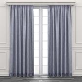 HOLA 幾何剪花半腰窗紗 270x165cm 淺灰色