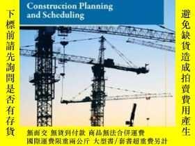 二手書博民逛書店Construction罕見Planning And Scheduling (4th Edition)-施工計劃與