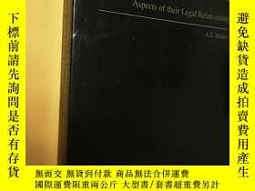 二手書博民逛書店International罕見Organizations and Their Host States:Aspect