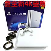 PS4 Pro主機冰河白 9成新+GT賽車+43吋4K電腦螢幕PHILIPS飛利浦全新品 【中古二手】台中星光