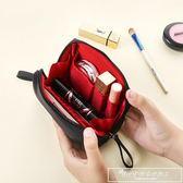 隨身化妝包小號便攜口紅收納袋簡約防水大容量韓國小號淑女洗漱包『韓女王』