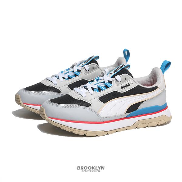 PUMA 休閒鞋 R78 TREK 黑灰白 復古 運動鞋 男女 (布魯克林) 38072803