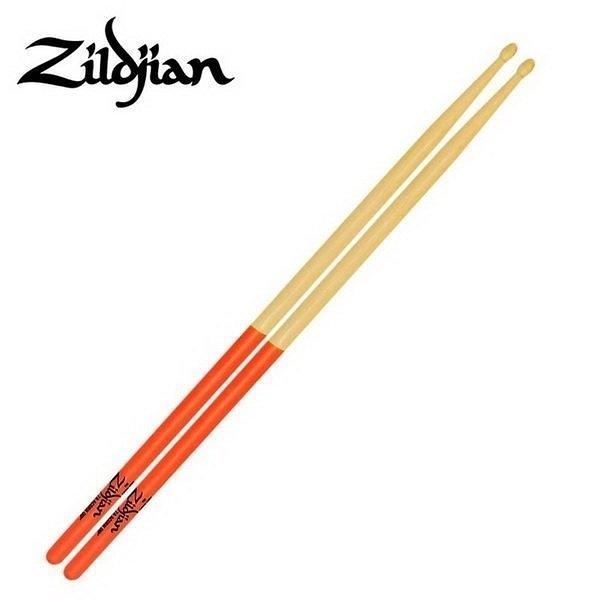 ☆ 唐尼樂器︵☆美國製 Zildjian 7A ACORN DIP 楓木爵士鼓鼓棒(橘色)