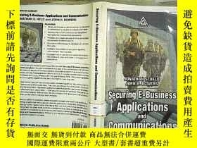 二手書博民逛書店Securing罕見E-Business Application