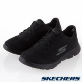 SKECHERS系列-GO WALK 5 女款黑色健走鞋-NO.15902WBBK
