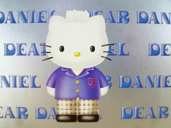 【震撼精品百貨】Hello Kitty 凱蒂貓-KITTY吸油面紙-丹尼爾圖案