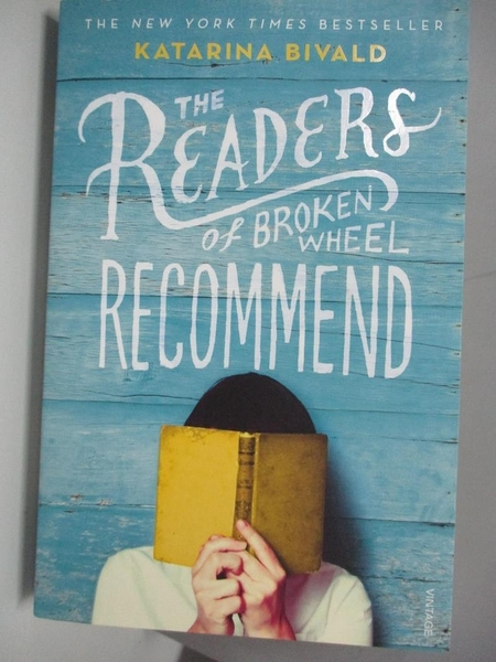 【書寶二手書T1/原文小說_ARW】The Readers of Broken Wheel Recommend_Katarina Bivald