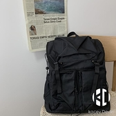 雙肩包女日系原宿旅行背包男復古港風學生書包【Kacey Devlin】