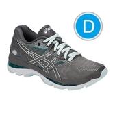 樂買網 ASICS 18FW 高階 緩衝型 女慢跑鞋 NIMBUS 20系列 D楦 T851N-020 贈腿套