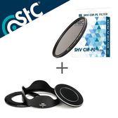 STC Hood-Adapter 轉接環 快拆 遮光罩組+CPL 46mm 偏光鏡【SONY RX100 VI M6 六代 專用】