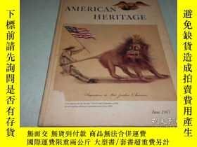 二手書博民逛書店AMERICAN罕見HERITAGE, JUNE 1967 .