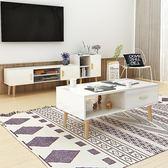 電視櫃北歐電視櫃組裝簡約現代小戶型多功能超窄客廳臥室經濟型wy