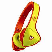 美國 MONSTER DNA ON-EAR (螢光黃) 耳罩式耳機