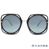 Dior 太陽眼鏡 Direction (黑-金) 幾何元素 大框 墨鏡 久必大眼鏡