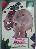 【書寶二手書T3/少年童書_WEN】Mouse and Elephant_Matthias Hoppe