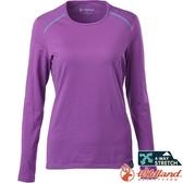 Wildland 荒野 0A62665-50粉紫色 女輕量鍺纖維親膚保暖衣 排汗透氣發熱衣/快乾機能內衣/內搭保暖衣*
