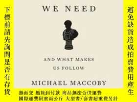二手書博民逛書店The罕見Leaders We Need: And What Makes Us FollowY256260 M