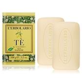 LERBOLARIO 蕾莉歐 茶樹香柏植物皂(100g)X2