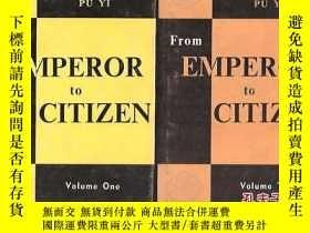 二手書博民逛書店FROM罕見EMPEROR TO CITIZENY24040 sin-Gioro Pu Yi 外文出版社 出