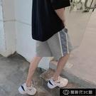 運動短褲男ins夏季大碼胖子寬鬆國潮反光五分褲韓版休閒5分沙【全館免運】