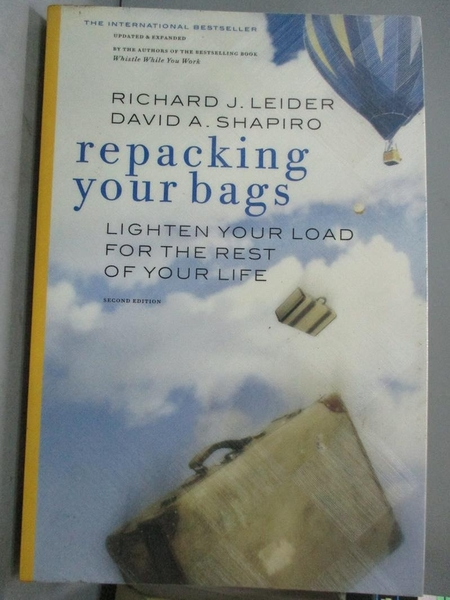 【書寶二手書T6/財經企管_WFT】Repacking Your Bags: Lighten Your Load for
