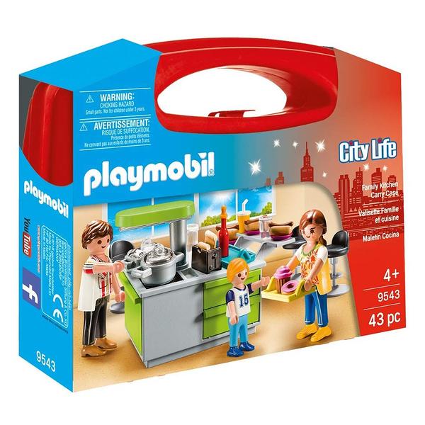 playmobil 帶著走提盒 家庭廚房_PM09543