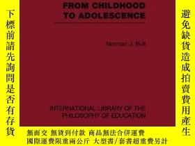 二手書博民逛書店Moral罕見Judgement From Childhood